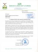 Petition to Rwandan Parliament