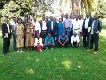 Some members of DGPR's political Bureau