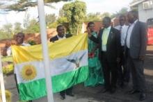 Le drapeau du Parti DGPR