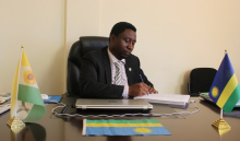 Hon.Dr.Frank Habineza, President, DGPR