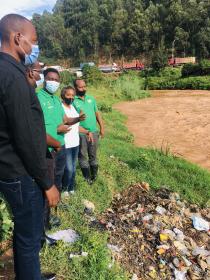 River Nyabugogo has become a dump site