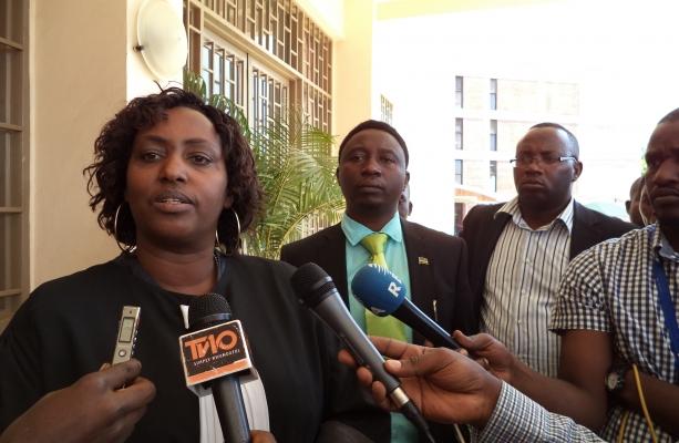 Maitre Antoinette Mukamusoni, the party lawyer