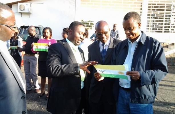 DGPR President with NFPO's Exec Secretary