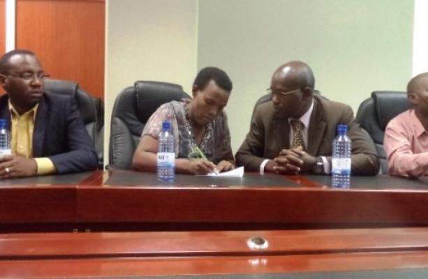 DGPR Executive officials at RGB