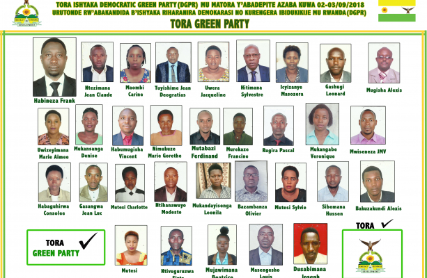 DGPR Parliamentary Candidates 2018
