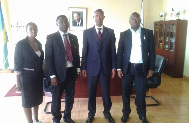 DGPR Leaders with Internal Security Minister