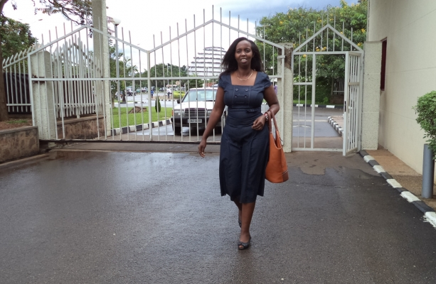 DGPR's First Vice President, Carine Maombi