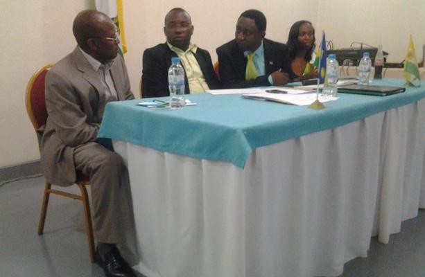 Executive Secretary of NFPO at Award ceremony