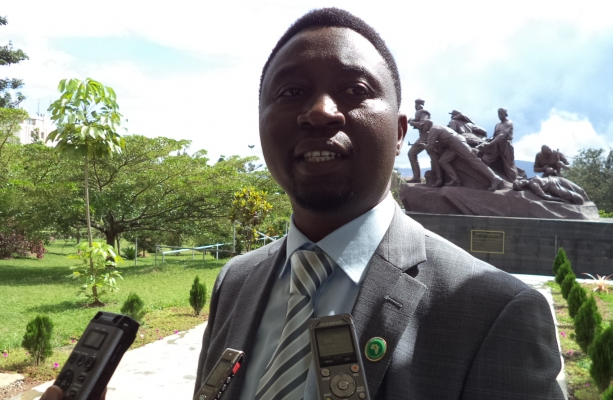 DGPR President, Dr.Frank Habineza