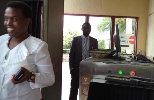 DGPR's Treasurer, Florence Mukobwajana